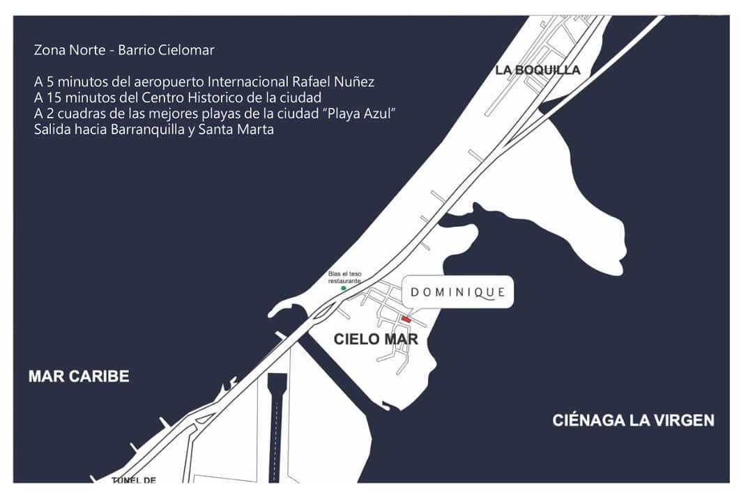EDIFICIO DOMINIQUE - CIELO MAR - CARTAGENA